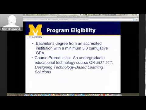 MA Ed Tech Virtual Open House