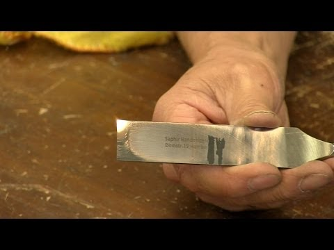 Preparing and sharpening a woodworking chisel - with Paul Sellers
