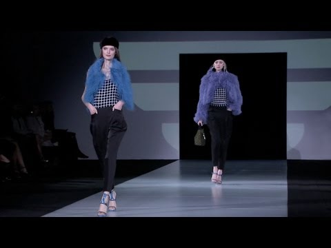 Emporio Armani Women's Collection Fall/Winter 2011-2012