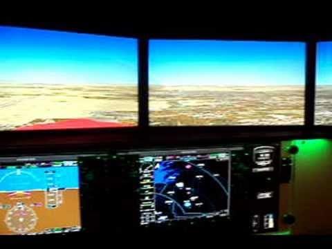 ATRC's Redbird FMX Cessna Skyhawk with G1000 avionics Simulator