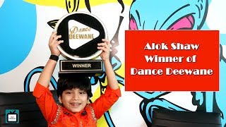 In a candid chat with Alok Shaw; winner of Dance Deewane I Exclusive I TellyChakkar - TELLYCHAKKAR