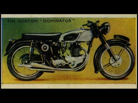 Pt2 1950's British Motorcycles - Triumph Thunderbird Royal Enfield Ensign BSA Golden Flash