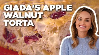 Giada's Apple Walnut Torta | Food Network - FOODNETWORKTV