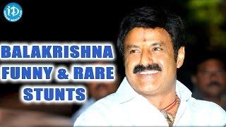 Balakrishna Unseen Funny Rare Stunts - IDREAMMOVIES