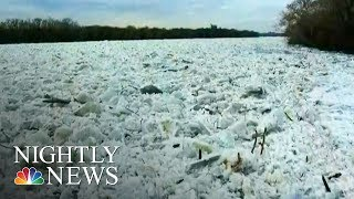 Ice Jams Trigger Flooding, Dangerous Conditions | NBC Nightly News - NBCNEWS