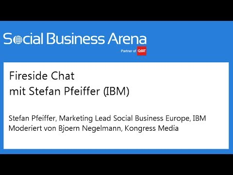 #cebitsba 2014 | Fireside Chat mit Stefan Pfeiffer (IBM)