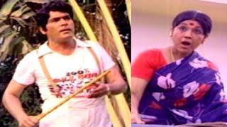 Gopalarao Gari Ammayi Movie Comedy Scenes || Sowcar janaki Misunderstanding Rao Gopala Rao - NAVVULATV