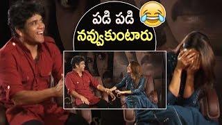 Nagarjuna Making Superb Fun With Samantha Akkineni | Chay Sam Love Story | TFPC - TFPC