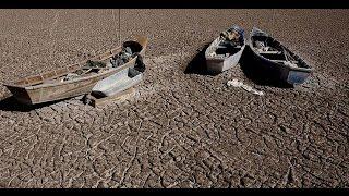 Confirman la evaporación del lago Poopó en Bolivia