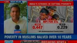 Poverty in Muslims halved over 10 years; UN report enforces India's inclusivity - NEWSXLIVE