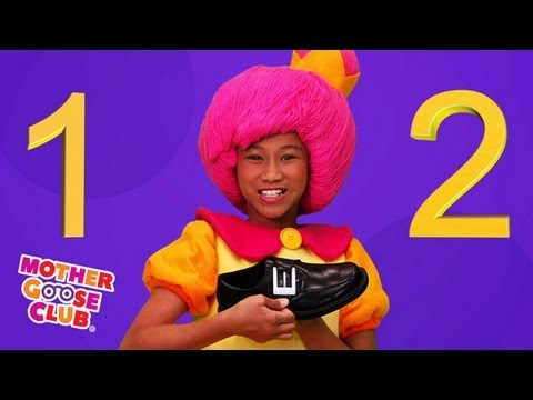 Nursery Rhymes - One Two Buckle My Shoe HD  - Mother Goose Club