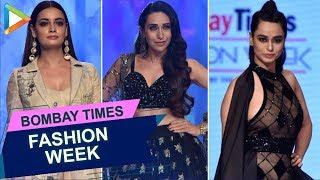 UNCUT: Karisma Kapoor, Dia Mirza & others at Bombay Times Fashion Week Day 2 - HUNGAMA