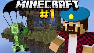 КРИПЕР ДЕСАНТНИК - Minecraft | День Выживания # 1