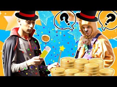 نطنط نهار وأرنوب الحبوب | سحر مع أرنوب -  وين العملة | Where`s the Coin 💰⁉