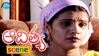 Aditya Movie Scenes - Shilpa Saves Jagadish From Danger || Swapna || Shasidhar - IDREAMMOVIES