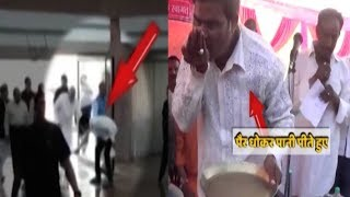 ABP News is LIVE | PM Modi does not allow to touch his feet but it is not same with this BJP member - ABPNEWSTV