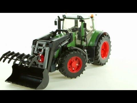 Fendt 936 Vario Tractor with Frontloader – Muffin Songs' Oyuncakları Tanıyalım