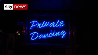 Strippers given right to form and join unions - SKYNEWS