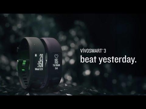 vivosmart 3 Aktivitäts- und Fitnesstracker im Video 2017 von Garmin