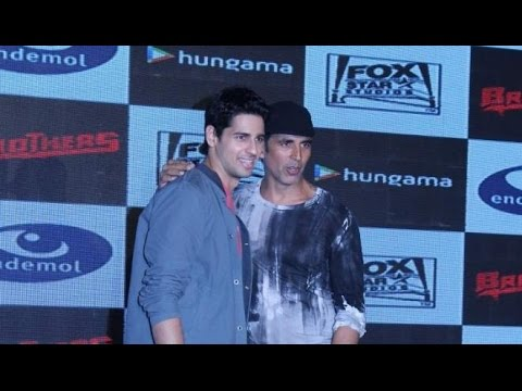 Akshay & Sidharth Launch 'Brothers' Video Game!