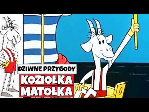 """DZIWNE PRZYGODY KOZIOŁKA MATOŁKA - seria, odcinek """"Małpi król"""""""