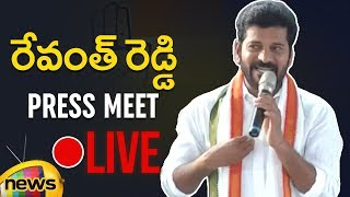 Revanth Reddy Press Meet | Revanth Says People Front will Emerge Victorious Gift to Sonia Gandhi - MANGONEWS