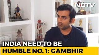 Jasprit Bumrah Is The Best Bowler In The World Right Now: Gautam Gambhir - NDTV