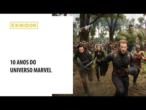 10 anos do Universo Marvel