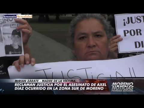 Asesinaron a un joven en la zona sur de Moreno y su homicida está prófugo: Los familiares de la víctima reclaman justicia