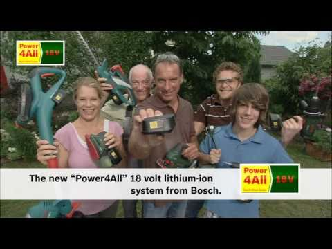 Bosch Power Tools 18 Volt Lithium-Ion