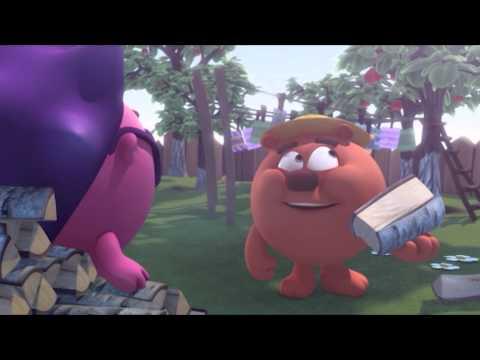 Кадр из мультфильма «Смешарики. Новые приключения. Ничейный выйгрыш»