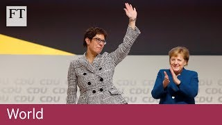 Close Merkel ally elected leader of Germany's CDU - FINANCIALTIMESVIDEOS