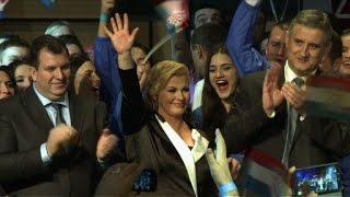 مصريون يغازلون رئيسة كرواتيا: «كلنا فداك يا كوليندا» (فيديو وصور) | المصري اليوم