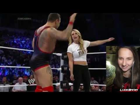 WWE Smackdown April 18,2014 Fandango vs Santino Live Commentary