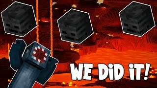 watch the youtube video Minecraft - Boss Battles - We Did It! [24]