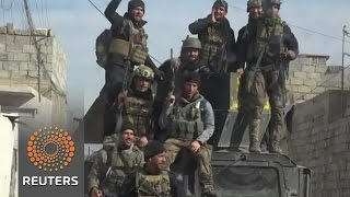 Iraqi forces push Islamic State further back in Mosul -military - REUTERSVIDEO