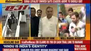 Sonia loyalist Dwivedi says leaders above 70 should quit - NEWSXLIVE
