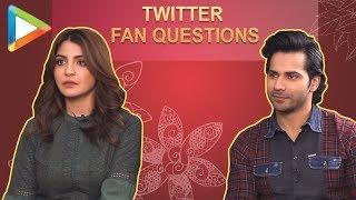 "Anushka Sharma: ""I & Varun Dhawan want to do a....""   Fan Questions   Sui Dhaaga - HUNGAMA"