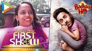 Badhaai Ho Public Review | First Day First Show | Ayushmann Khurana | Sanya Malhotra | - HUNGAMA