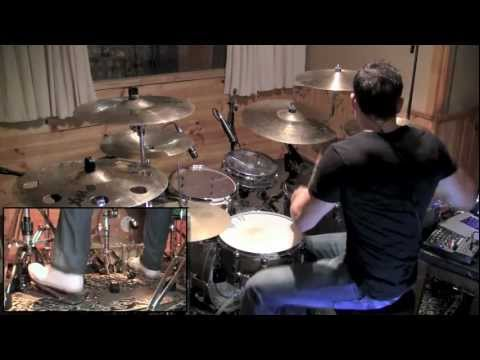 Meshuggah - Nothing Album Medley Drum Cover by Troy Wright