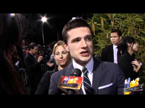 Josh Hutcherson Dishes on Hunger Games and Valentines Day Plans