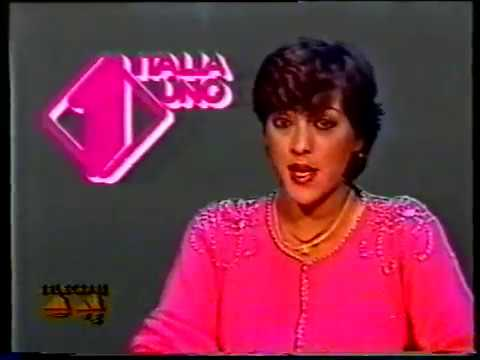 Annunci Telecapri Italia 1 1983 - Annuncio Lady Oscar - Annunciatrice: Teresa Iaccarino