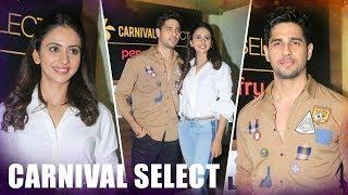 Aiyaary's Sidharth Malhotra & Rakul Preet  Launch 'Carnival Select lounge' At Sangam Cinemas - HUNGAMA