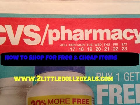 CVS Sale Preview With Free & Cheap Items Coupon Match ups 8/17/14 to 8/23/14