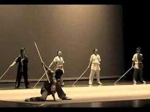 Oto właśnie wushu, chińska sztuka walki