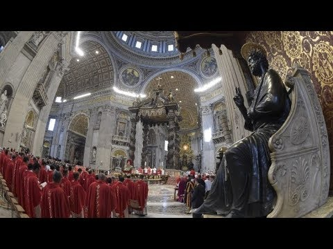 Lễ Chúa Thánh Thần Hiện Xuống tại Vatican, 20.05.2018