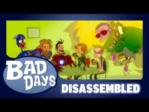 Disassembled: An Avengers Cartoon Parody