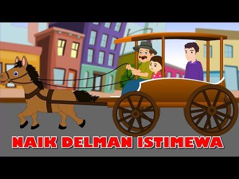 Naik Delman Istimewa | Lagu anak TV | Riding a Horse Drawn Carriage in Bahasa Indonesia