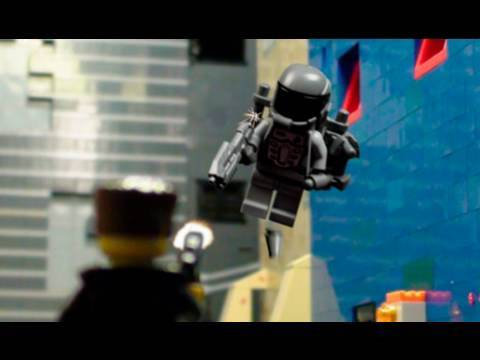 Lucha armada en la calle con LEGO