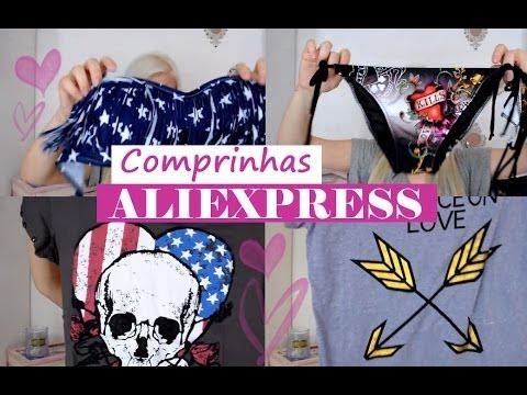 Comprinhas ♡ Aliexpress (biquínis & camisetas)